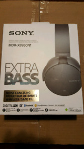 Sony MDR-XB950N1 Noise Cancelling Wireless Bluetooth Headset