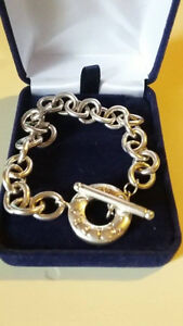 TIFFANY & CO. TOGGLE CHARM BRACELET STERLING SILVER Cambridge Kitchener Area image 2