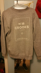 Crooks and castles sweater
