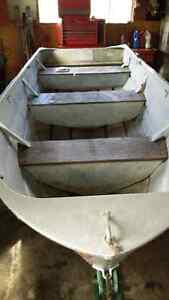 Trade  14ft aluminum boat for...