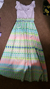 Kids size 7/8 dresses and tops