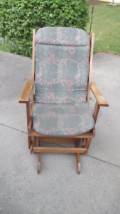 Slider Style Rocking Chair