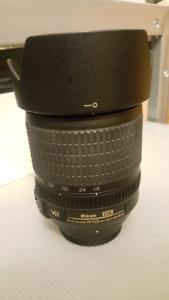 Nikon 18-105mm F3.5-5.6 AF-S DX VR ED lens