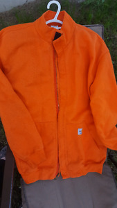 Carhartt size Large flame resistant jacket