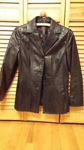 Danier Leather Jacket BLACK WOMEN'S SMALL