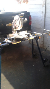 Mitre  saw and stand