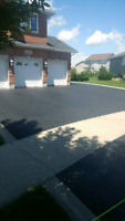 PERFECT WEATHER TO SEAL DRIVEWAY