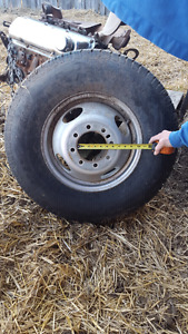 2 Brand New Trailer and Rims ST235/80R16