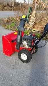 "24"" SNOW THROWER DELUXE"