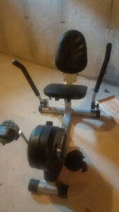 Horizontal exercise bike Kitchener / Waterloo Kitchener Area image 1
