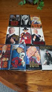 Don Cherry Rock'em Sock'em VHS collection