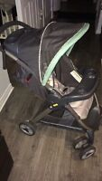 GRACO - Stroller and Car seat (+base)