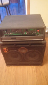 David Eden Bass Cabinet AND Trace Elliot Amp