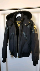 LIMITED gold edition moose knuckle bomber men - small