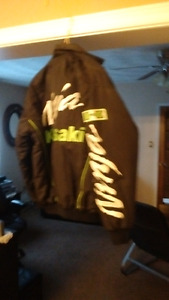 kawasaki ninja cotton jacket size medium