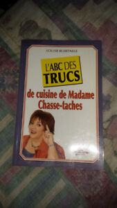 Madame chasse-tache. (Louise Robitaille )