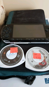 Sony PSP Original with 2 game