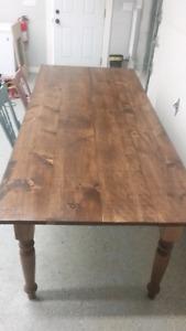 8 foot farm/harvest table