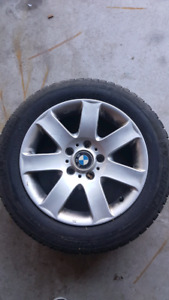 4 BMW Winter Tires and Rims