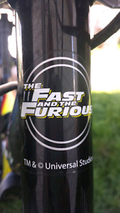 Rare Fast and Furious Collectable 5 Speed Kids Mountain Bike