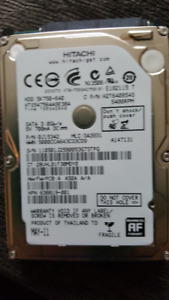 640 GB Hitachi Hard Drive - See Stats on Picture