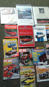 Mustang books and ADDS