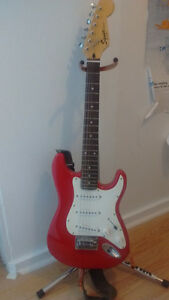 Child Size Electric Guitar and Stand