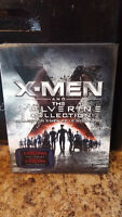 brand new X-MEN and the wolverine collection blu ray
