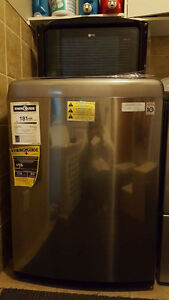 LG Silver Top Load Washing Machine - BRAND NEW
