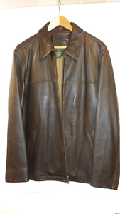 Authentic Eddie Bauer Leather jacket for sale.