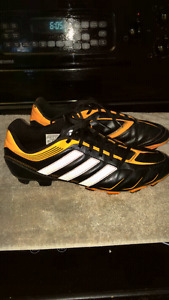 Men's size 9 adidas soccer cleats.