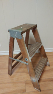 Vintage Wooden Step Ladder