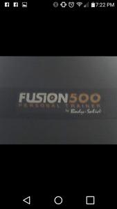 Fusion 500 exercise machine