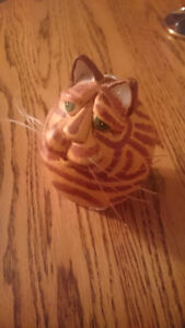 Small Ginger Cat Figurine