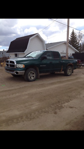 2003 Dodge Power Ram 1500 Quad cab Pickup Truck