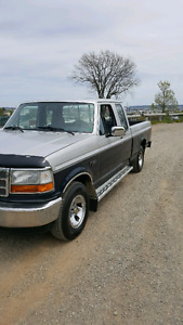 Trade this beautiful Ford extended cab