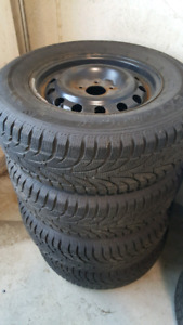 Winterclaw grip winter tires for sale.. 235/70/16