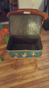 OLD TOY TIN CONTAINER