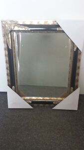 Antique wooden Frame with Beveled Mirror 16x20'' Brand new