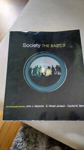 Society the Basics fifth canadian edition