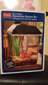 1 Gallon Aquarium Starter Kit