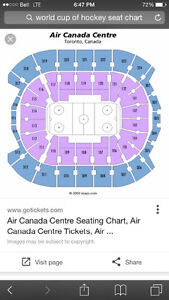 World Cup of hockey semi final games 1 and 2 Cambridge Kitchener Area image 1