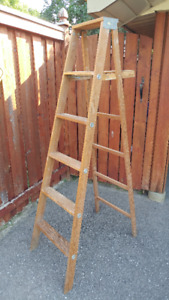 Early Wood Ladder