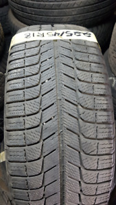 1x Single Michelin X-ice 3 225/45R18 95H Winter Tire