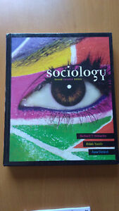 Sociology textbook for sale