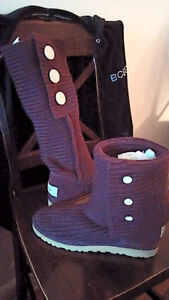 UGG classic cardy boots burgundy size 11