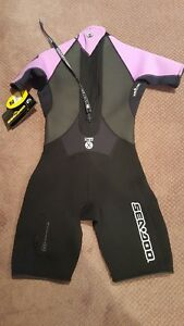 NEW Seadoo Purple Woman Wet Suit Regina Regina Area image 2