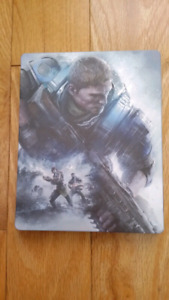 Gears of war 4 avec steelbook case (échange)