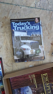 Trucking magazines-Older issues