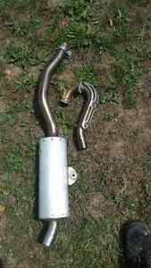 Yamaha WR 250 exhaust system Peterborough Peterborough Area image 2